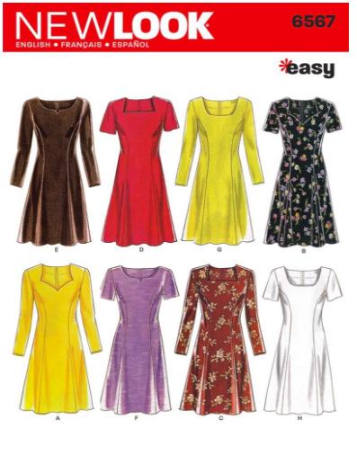 Soft Classic 26 Dress Sewing Pattern