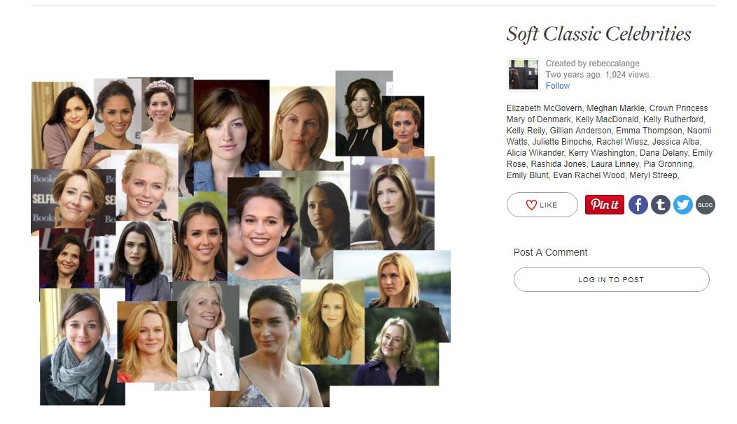 Soft Classic Celebrities
